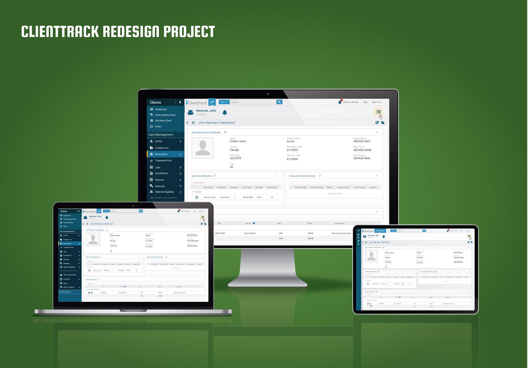 Eccovia RedesignProject